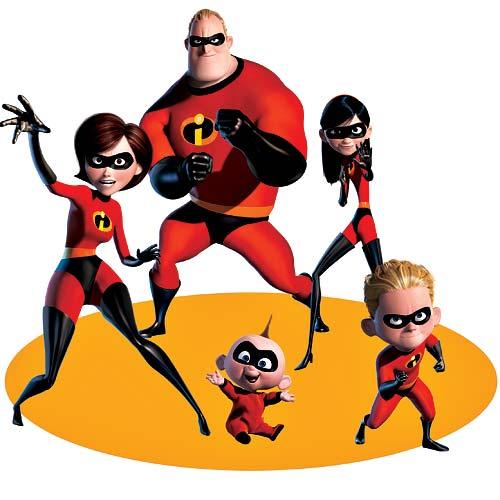 картинках в мультфильм суперсемейка