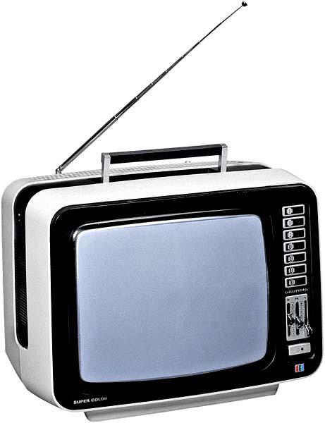 Переносной цветной телевизор
