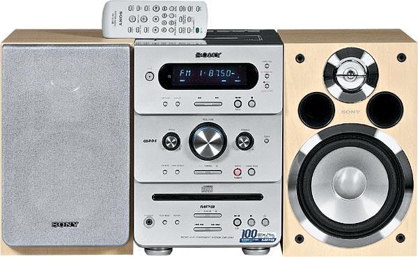 Sony CMT-GPX7 Инструкция